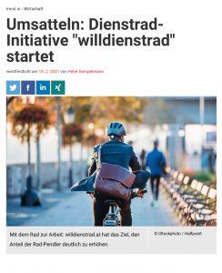 """Umsatteln: Dienstrad-Initiative """"willdienstrad"""" startet"""