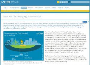 vcoe bericht zu Mobilität - willdienstrad - Dienstradfinanzierung